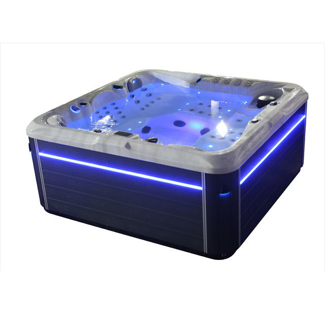 Optional Color Therapeutic Spa Hot Tub Waterfall Music Speaker For Outdoor