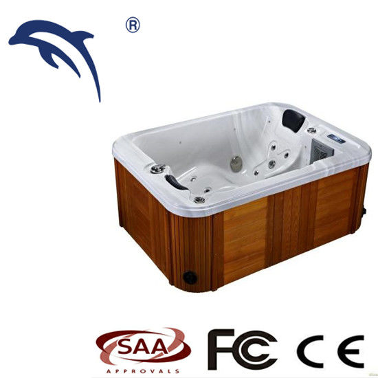 2 People Small Indoor Spa Tub Optional Color With 1900*1400*750mm